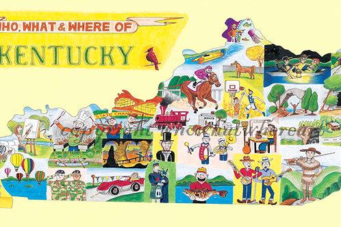 """Kentucky 10""""x18"""""""