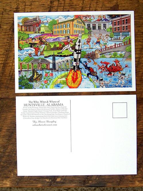 Huntsville, AL Postcard (12 pk)