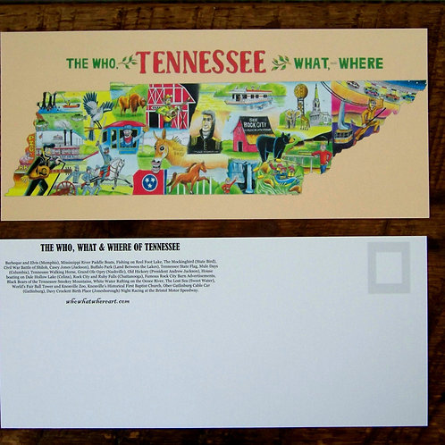 Tennessee Postcards (10 pk)
