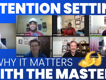 Intention Setting & Why it Matters With Certified Master Level Coaches