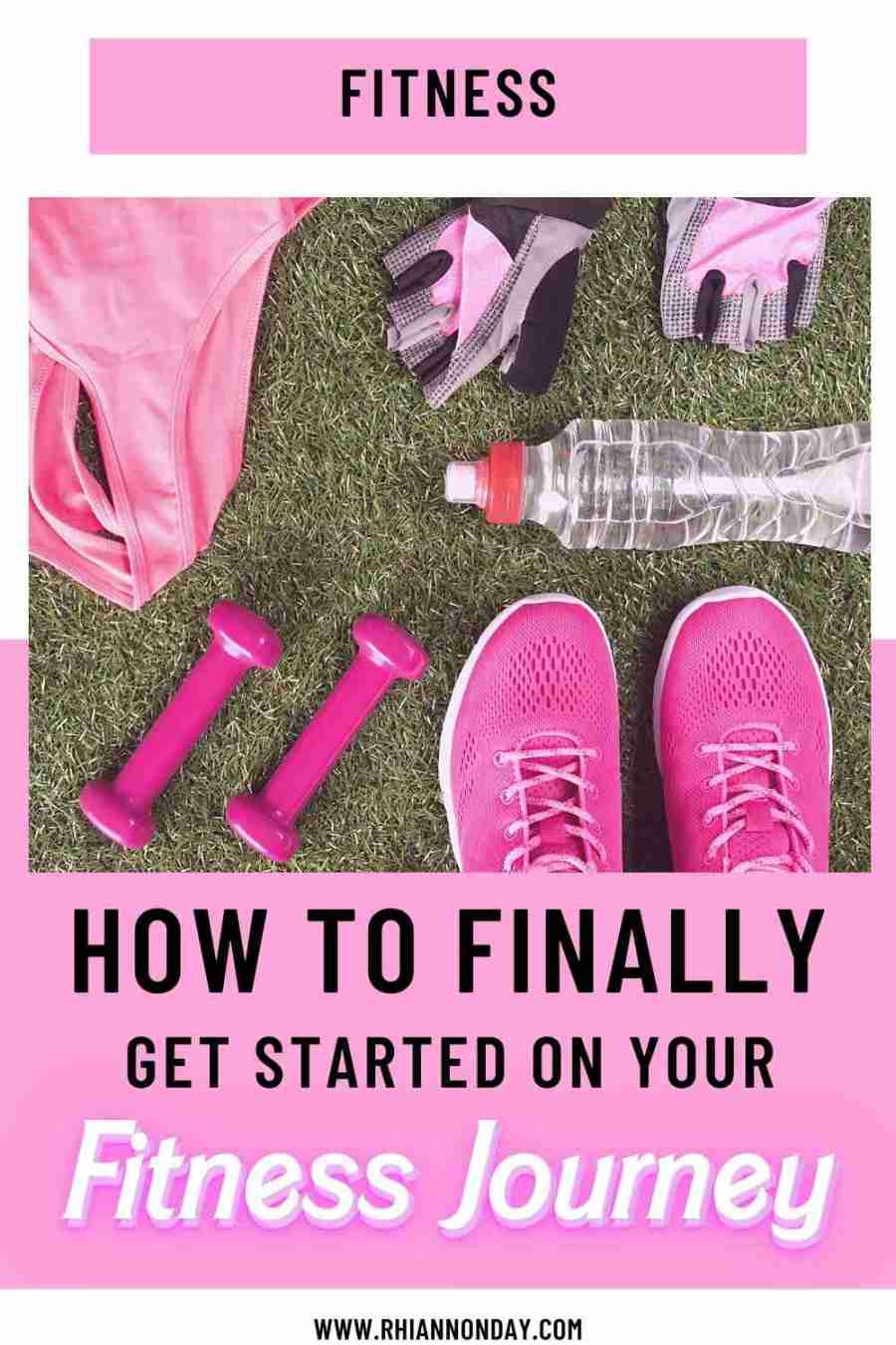 Struggling to get started with your fitness journey?  Getting started is often the hardest part.  Here's how to finally get started toward your fitness goals. #weightloss #fitness #fitnessgoals #weightloss2021