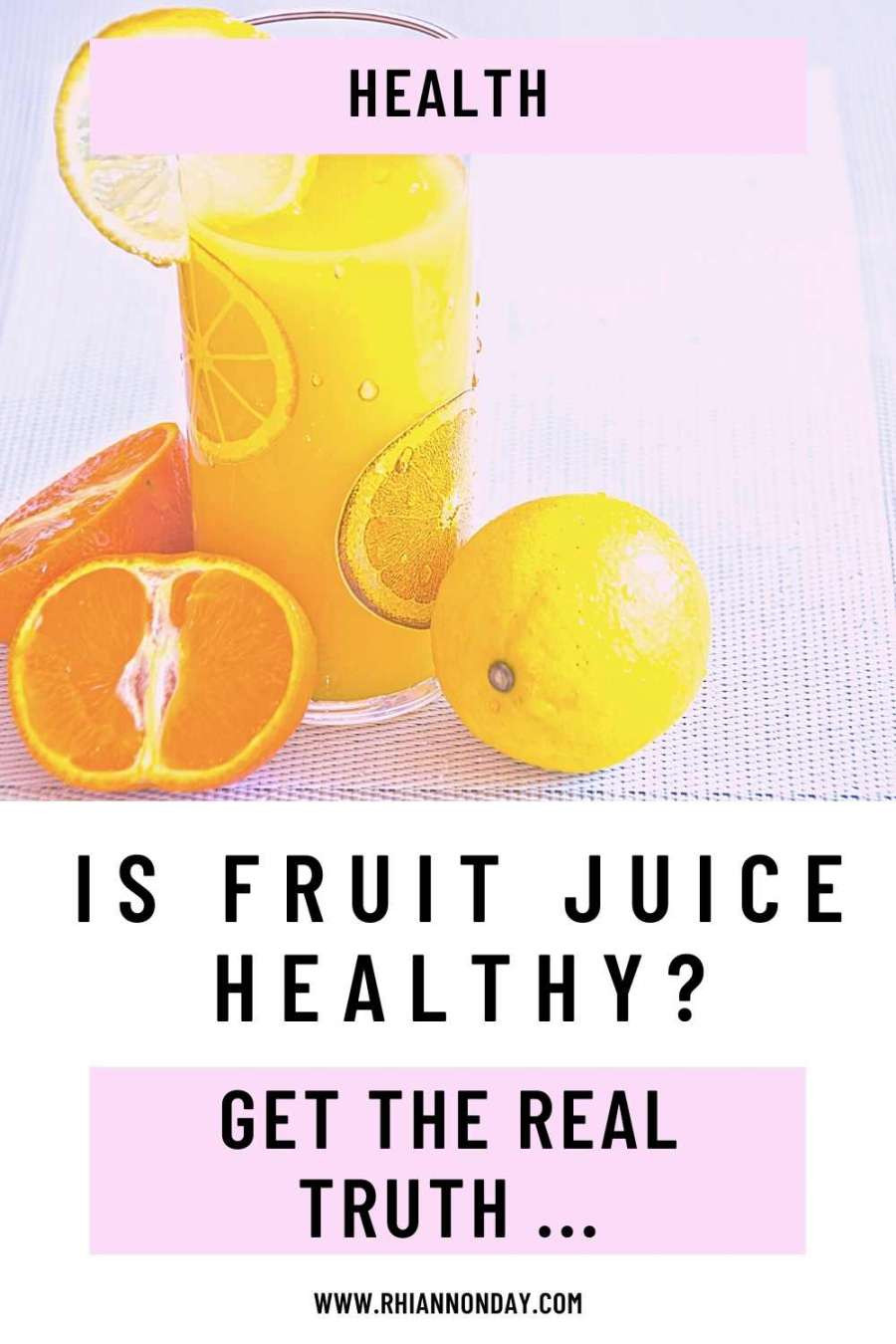 Should you drink juice if you want to lose weight?  Is fruit juice healthy, or is it as bad as soft drink?  If you want to make a healthy choice, you need to read this. #healthfood #fruitjuice #juicemyths #nutrition #healthychoice #fitnessgoals