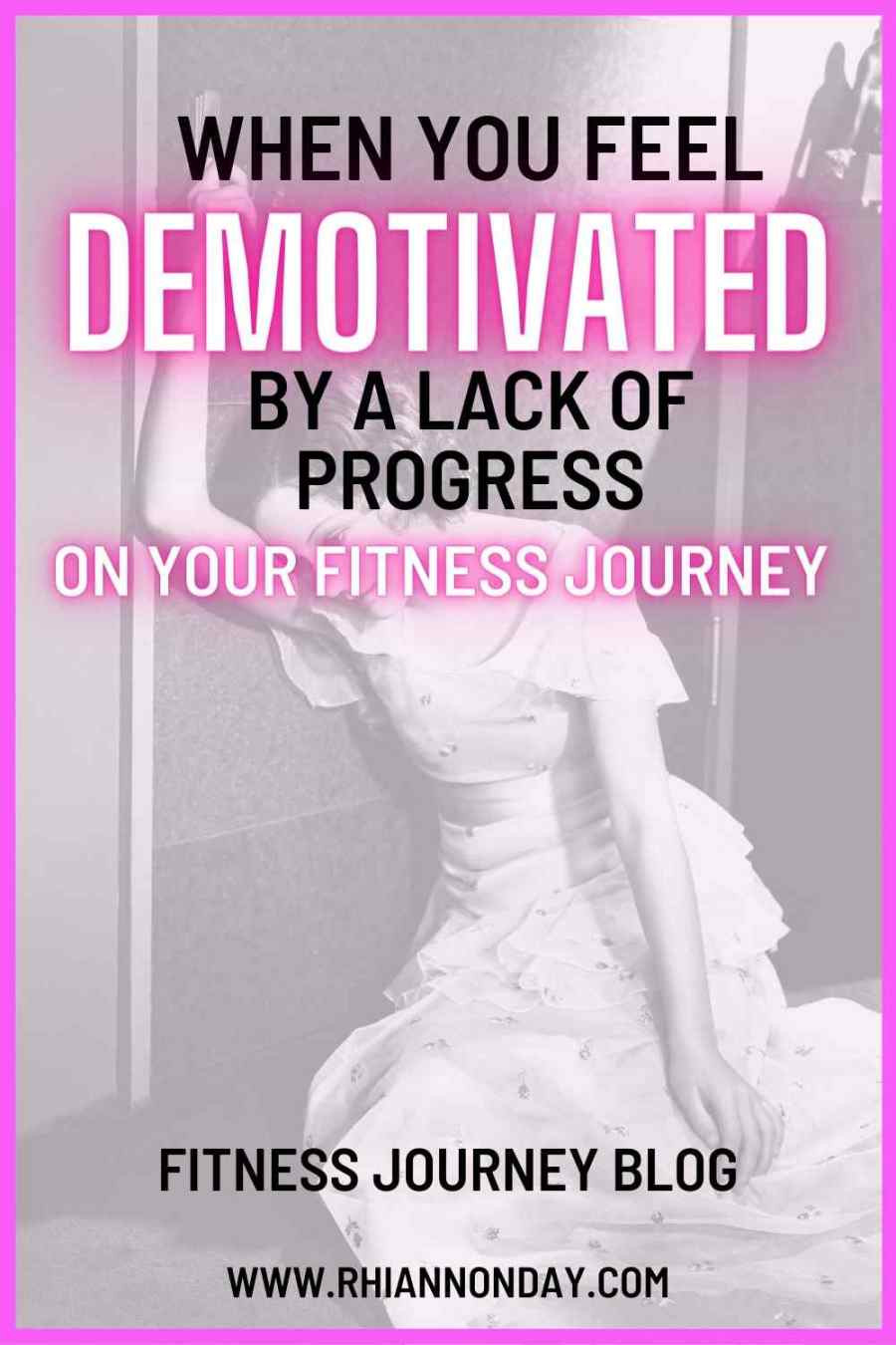 Does a lack of progress at the gym have you feeling unmotivated?  It's a very real thing, so let's talk about it.