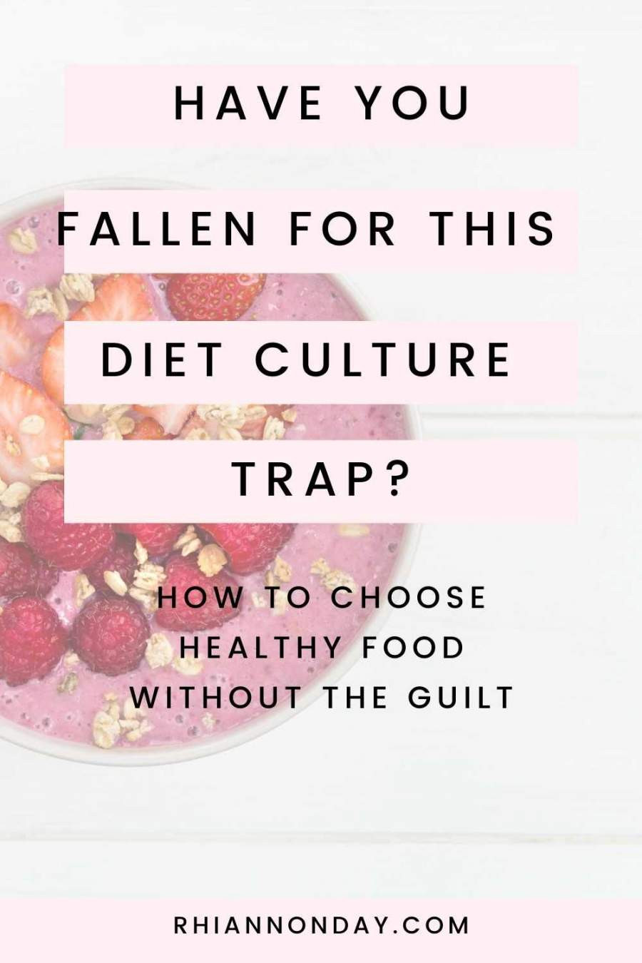 Are you caught in this common Diet Culture trap?  Here's how to entangle yourself from it so you can enjoy food, lose weight, and get fit without guilt. #weightloss #fitness #healthyeating #personaltrainer