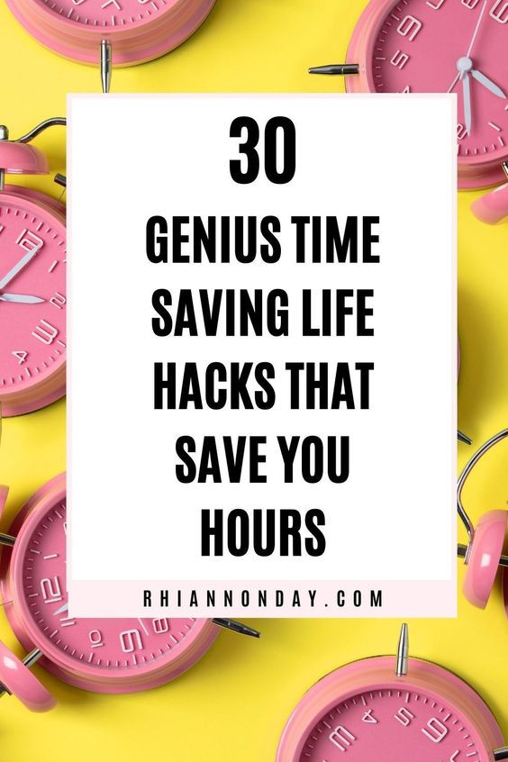 Do you wish you had more hours in a day? Try these genius life hacks to potentially save yourself HOURS every week. Free up your schedule, simplify your life, and get more done with these time saving tips. #timesaving #lifehacks #lifetips #timesavingtips #busy