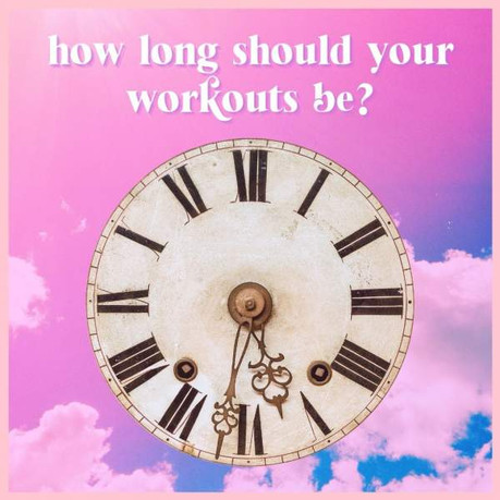 HOW LONG SHOULD MY WORKOUTS BE? | DAY 37