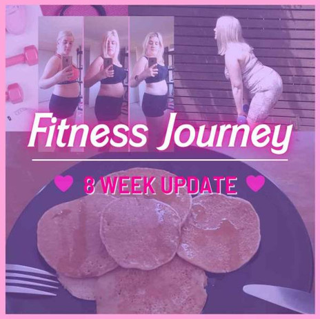 MY FITNESS JOURNEY: THE 8 WEEK UPDATE // DAY 56