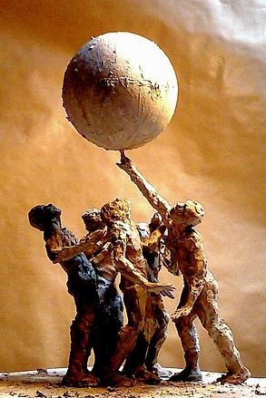 """D'après """"Folia""""de Mourad Merzouki, terre"""