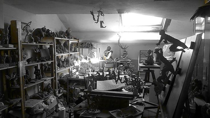 L'atelier d'Emilie Tolot