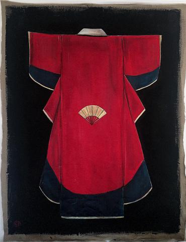 Kimono rouge, 2017