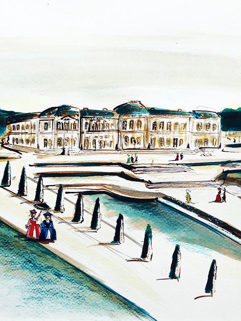 Versailles, 2019