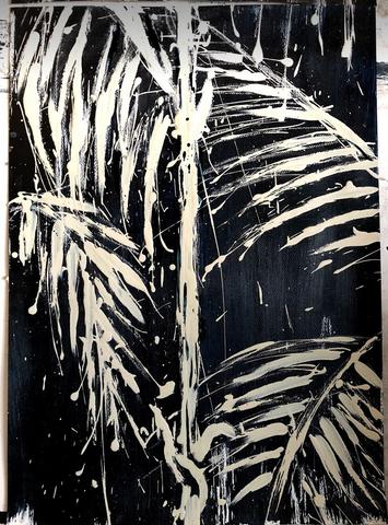 Palmiers en macro