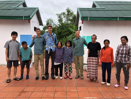 Visit to Cambodia Leper Colony