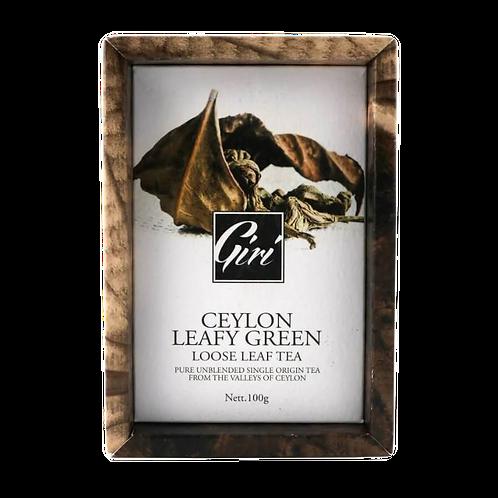 Ceylon Leafy Green Loose Leaf