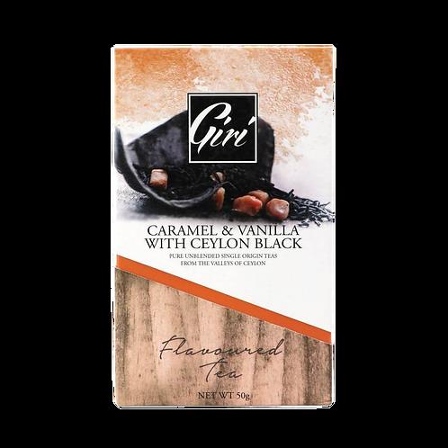 Caramel & Vanilla Ceylon Black