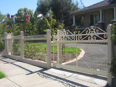 Woven Wire & Sliding Gate.JPG