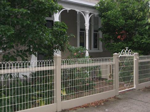 Woven Ornamental Wire Fence.JPG