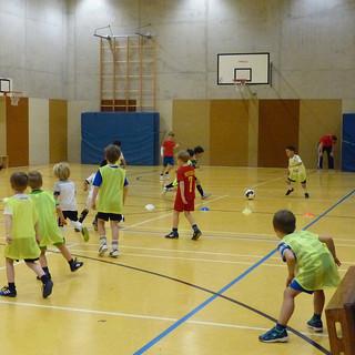 Training der Fußball-Kids