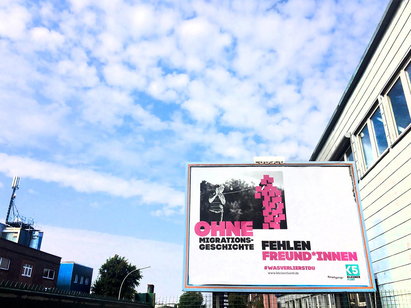 Kleiner 5 Plakatkampagne