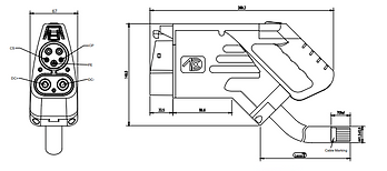 CCS1 Connector Drawings