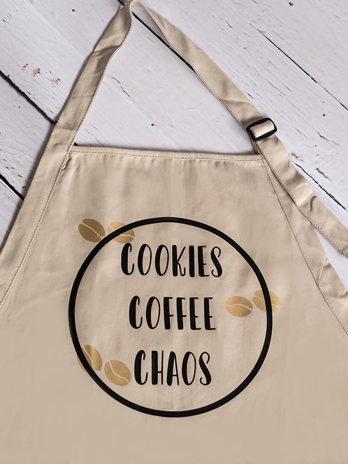 Cookie Coffee Chaos Apron
