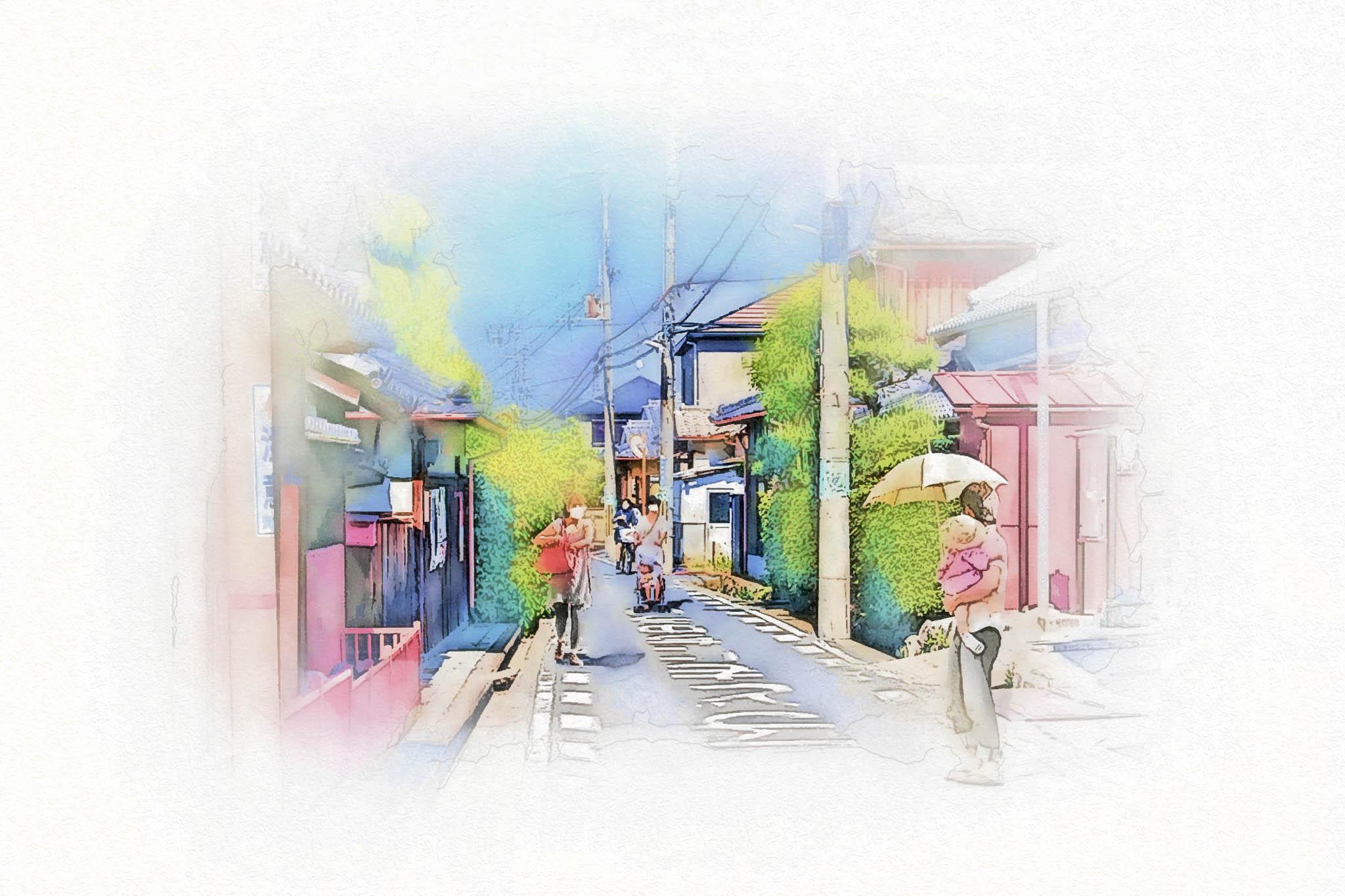 茨木市西国街道 (17c)