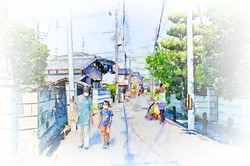 茨木市西国街道 (5bc)