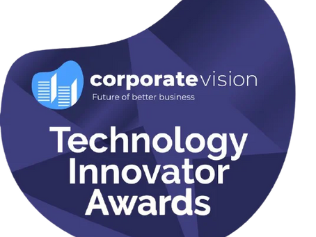 GCMS Earns the Technology Innovator Award by Corporate Vision