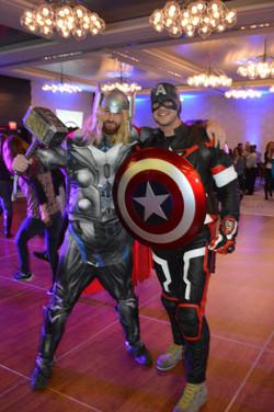 NYSCATE:Super Heroes Visit Teachers