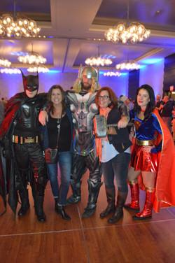 NYSCATE:Super HHeroes Visit Teachers