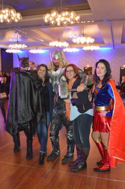 Super Heroes Visit Teachers