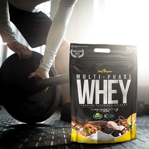 MULTI·PHASE WHEY 5Lb