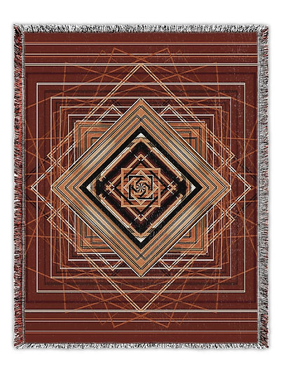 Witch's Madness Woven Tapestry