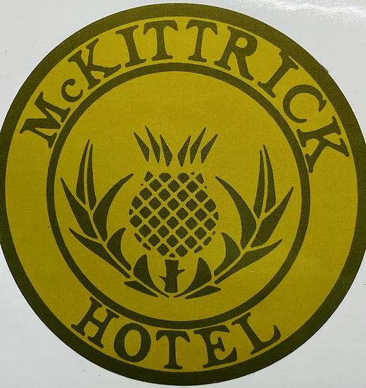 McKittrick Hotel Sticker