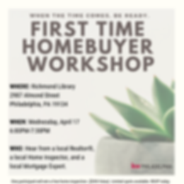 mail chimp first time home buyer wokshop
