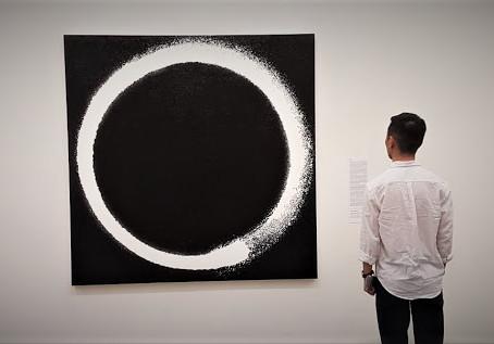 Estudantes do 3º ano do Ensino Médio vistaram a exposição Murakami por Murakami