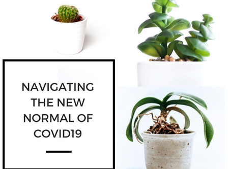 """Navigating the """"new normal"""" of COVID-19."""