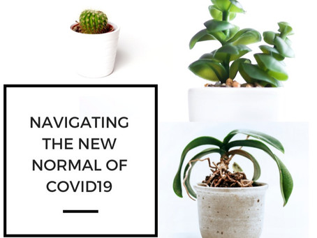 "Navigating the ""new normal"" of COVID-19."