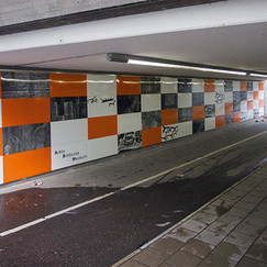Tunnel in Jönköping, Sweden.