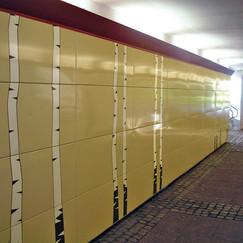 Tunnel in Gothenburg, Sweden