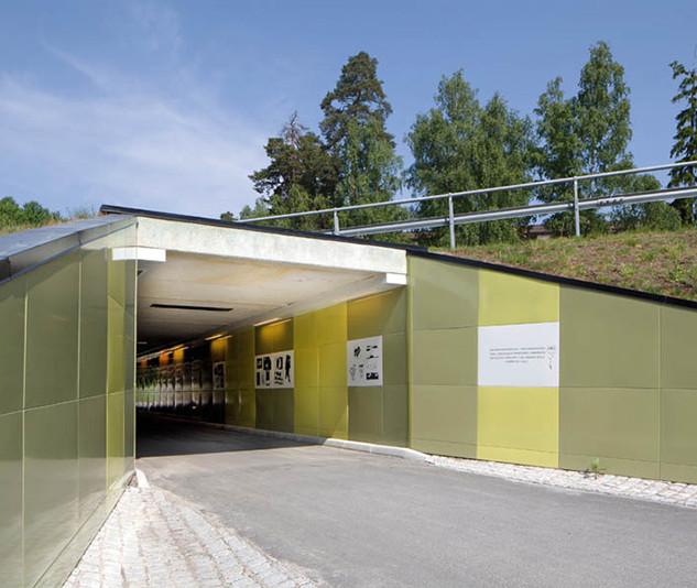 Tunnel in Stockholm, Sweden