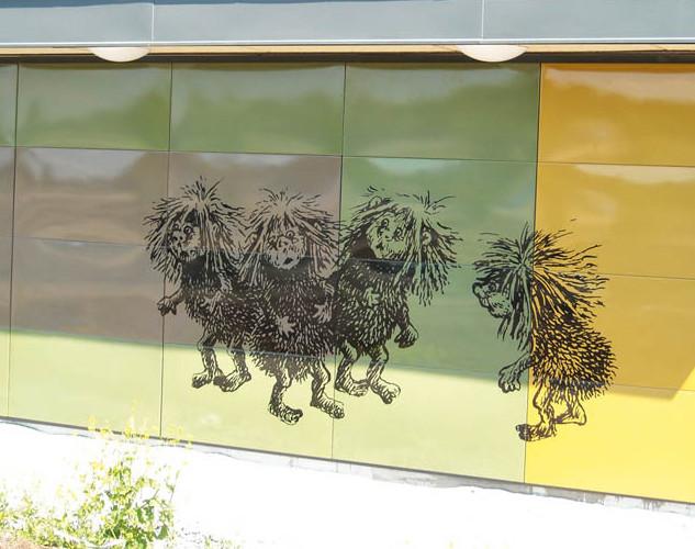 Custom emal panels