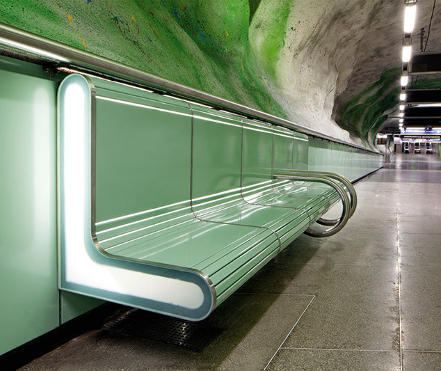 Stockholm metro, Fridhemsplan Station, Sweden