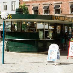 Street restaurant in Gothenburg, Sweden