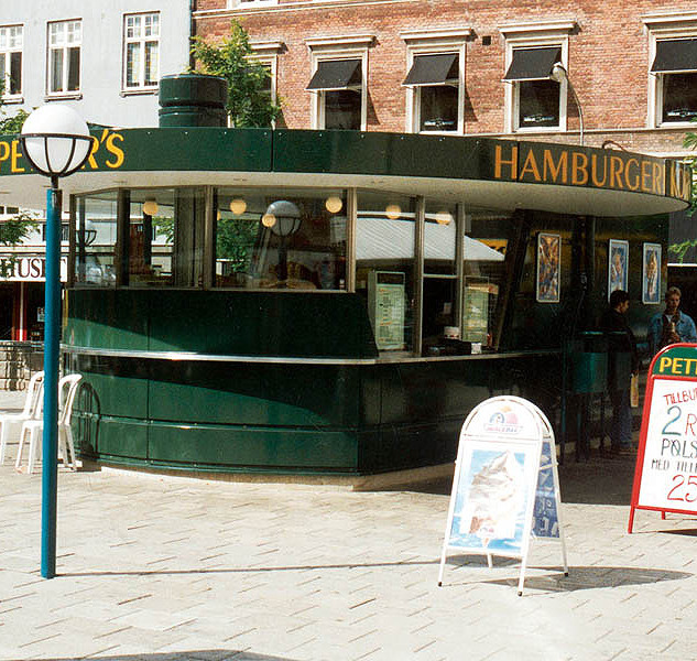 Street restaurant in Gothenburg, Sweden