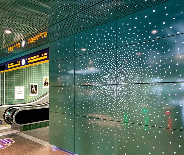 Stockholm metro, Hässelby Gård Station, Sweden