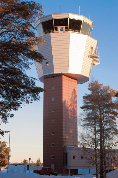Tower Building, Kallax, Sweden