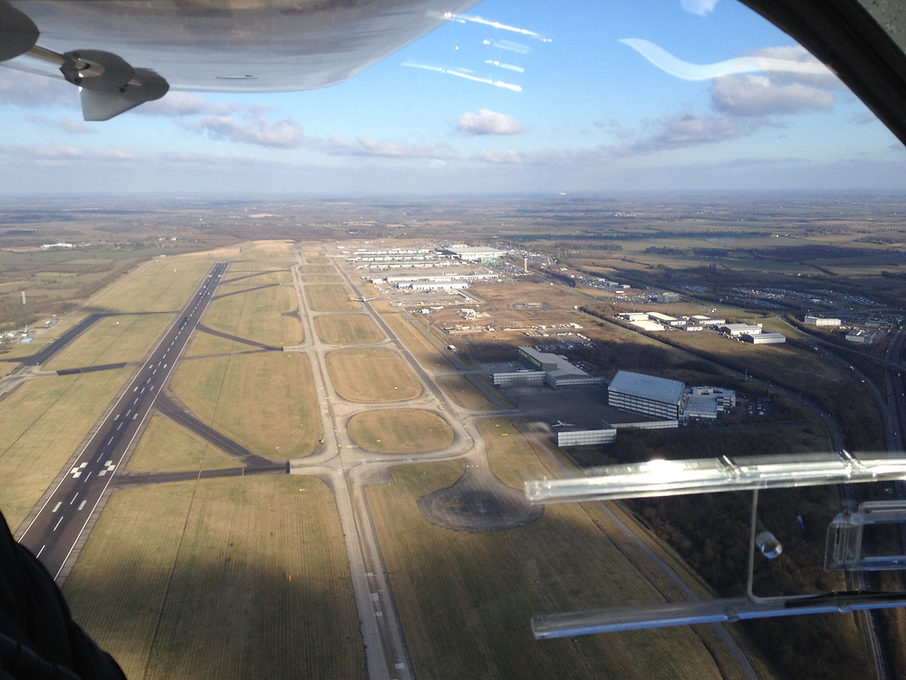 Overhead Stansted
