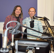 With Russell Hill at Express FM