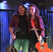 With Roisin O'Hagan